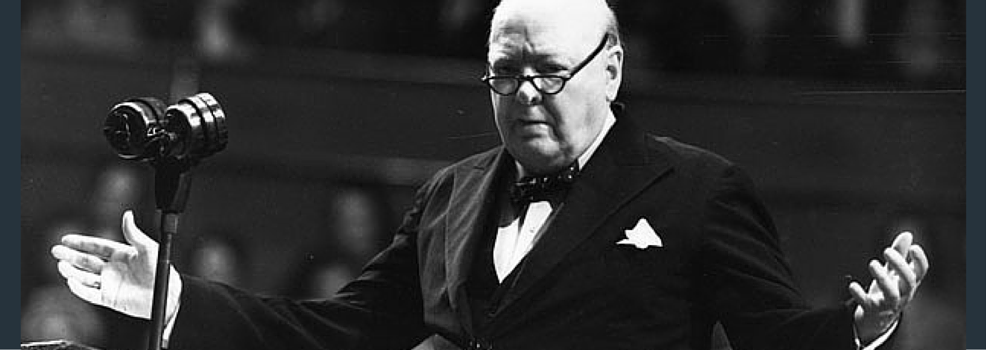 3 Lessons from Winston Churchill on How to Present