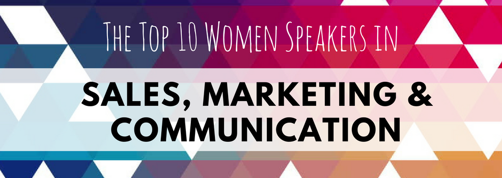 Women in sales, marketing and communication