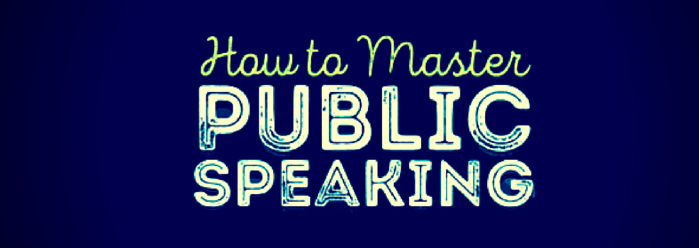 How to Master Public Speaking - Infographic