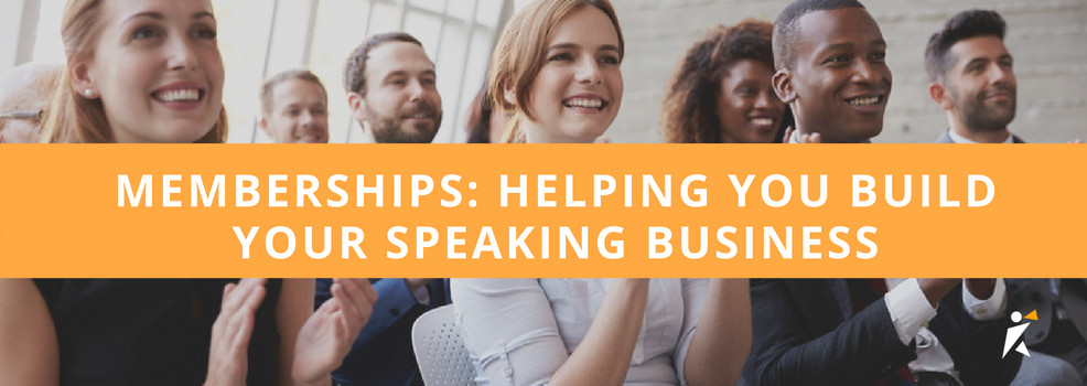 Memberships: helping you build your speaking business