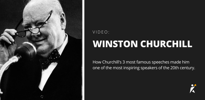 Video: Winston Churchill and finding your niche