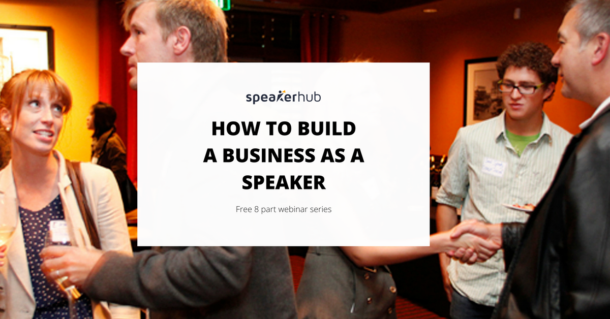 """Blog Article by SpeakerHub: """"Introducing: The SpeakerHub MasterClass: How to grow your speaking business"""""""