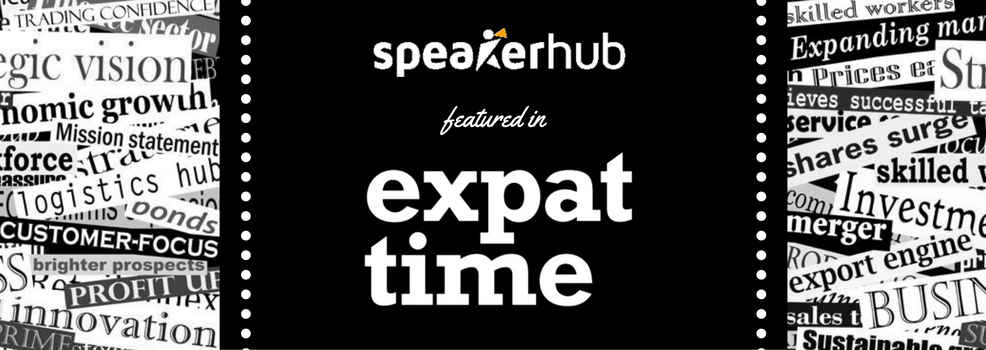 SpeakerHub is featured in The Expat Times Magazine