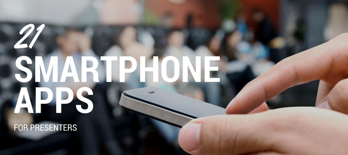 21 Smartphone apps for presenters   SpeakerHub