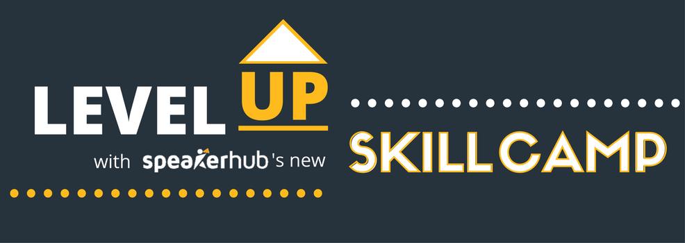 Introducing SpeakerHub's SkillCamp for professional speakers
