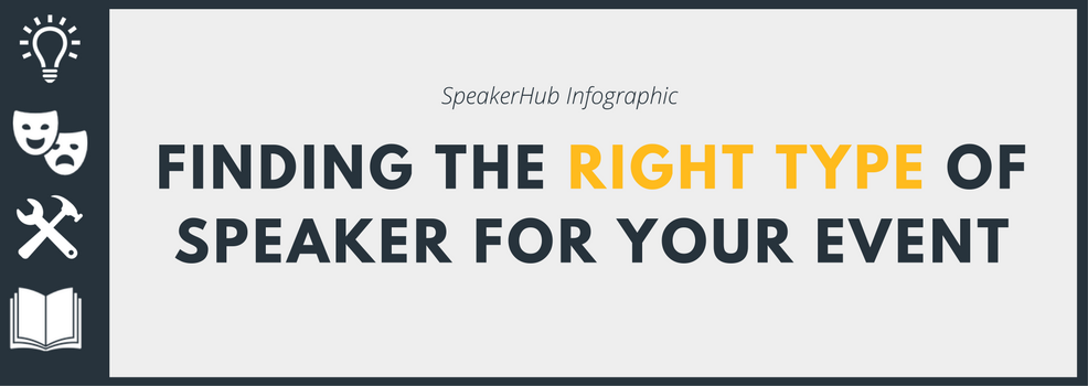 Finding the right type of speaker for your event