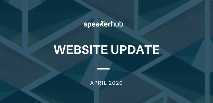 SpeakerHub Website Update