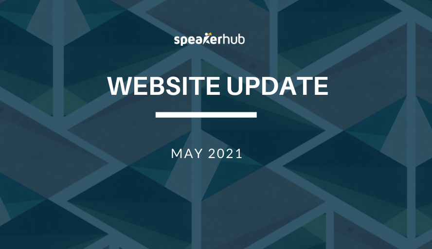 SpeakerHub Website Update:  Market Your E-courses Directly on Your SpeakerHub Profile Page