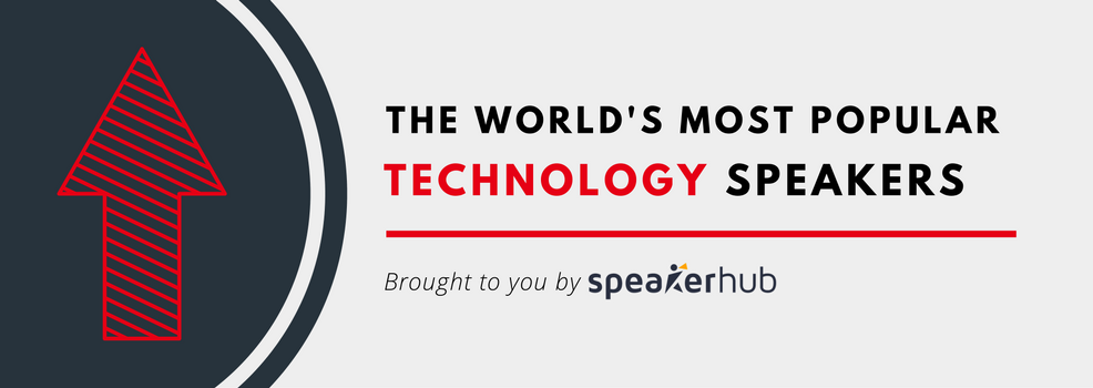 Top 50 Most popular speakers on technology