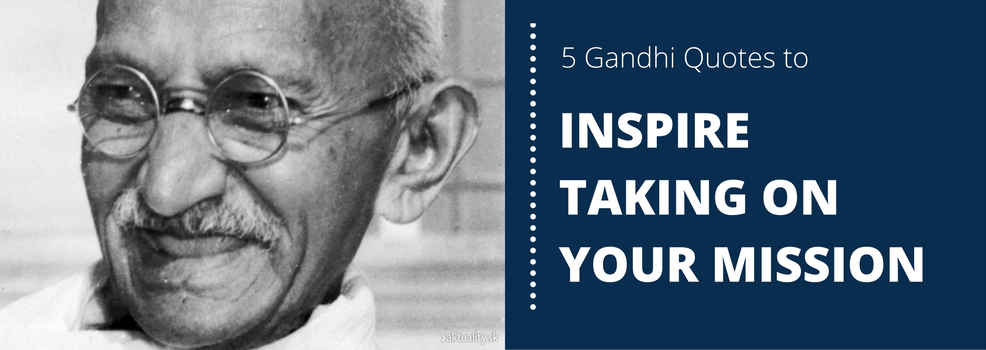 """Blog Article by SpeakerHub: """"The world's most amazing motivational speaker: what we can learn from Gandhi"""""""