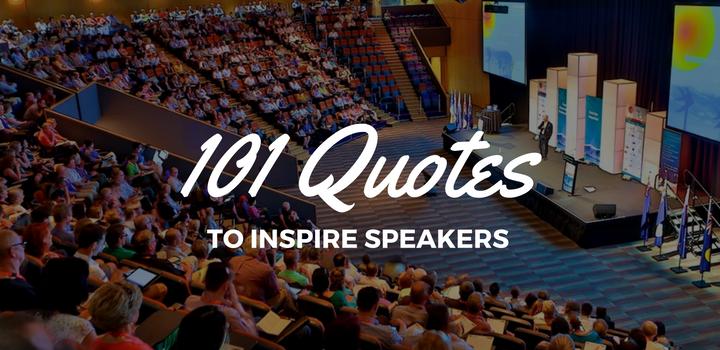 101 Quotes to inspire speakers | SpeakerHub