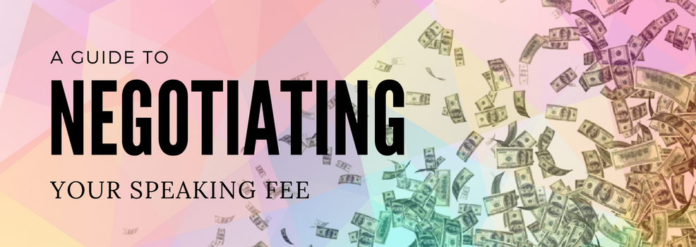 A guide to negotiating your speaking fee | SpeakerHub
