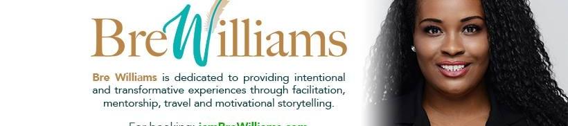 Bre Williams's cover banner