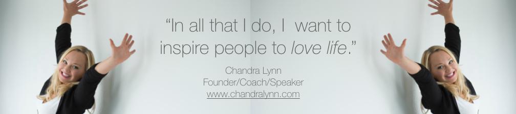 Chandra Lynn's cover banner