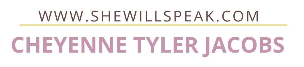 Cheyenne Tyler Jacobs's cover banner