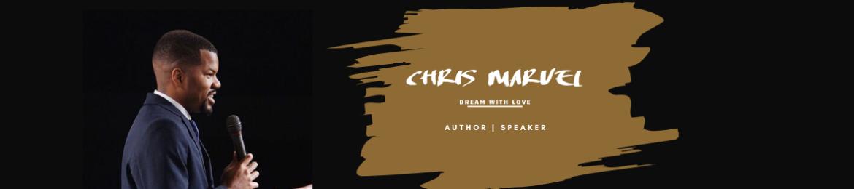 Chris Marvel's cover banner