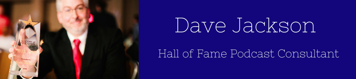 Dave Jackson's cover banner