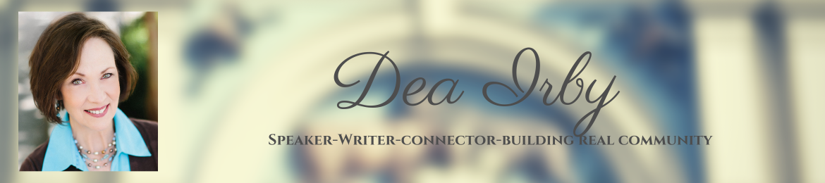 Dea Irby's cover banner