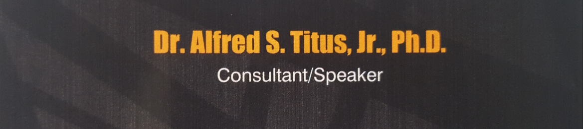 Dr. Alfred S. Titus, Jr.'s cover banner