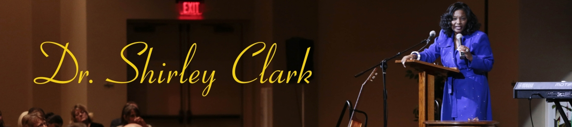 Dr. Shirley Clark's cover banner