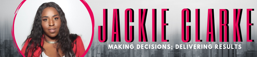 Jackie Clarke's cover banner
