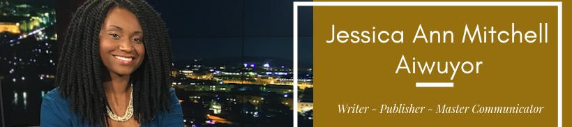 Jessica Ann Mitchell Aiwuyor's cover banner