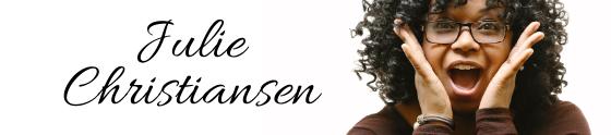 Julie Christiansen's cover banner