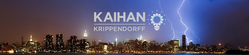 Kaihan Krippendorff's cover banner