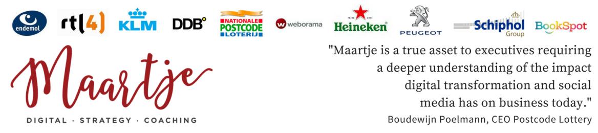 Maartje Blijleven's cover banner