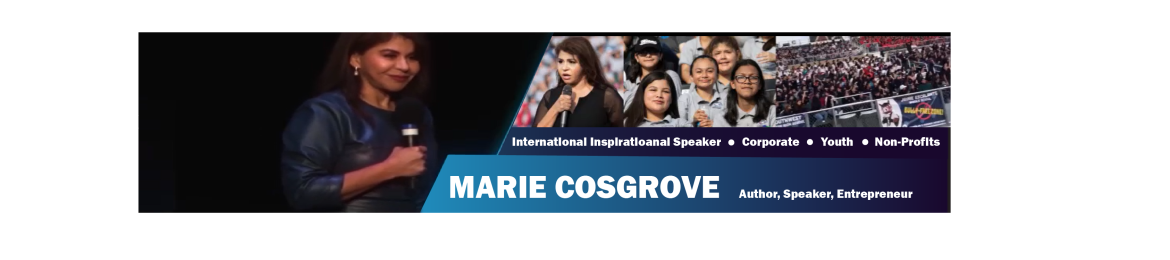 Marie Cosgrove's cover banner