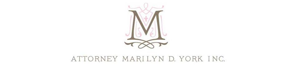 Marilyn York's cover banner