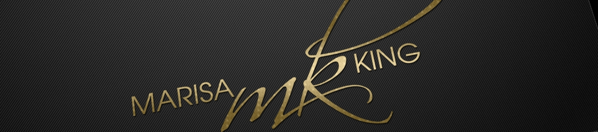 Marisa King's cover banner