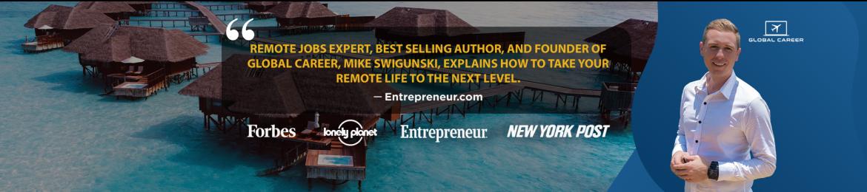 Mike Swigunski's cover banner