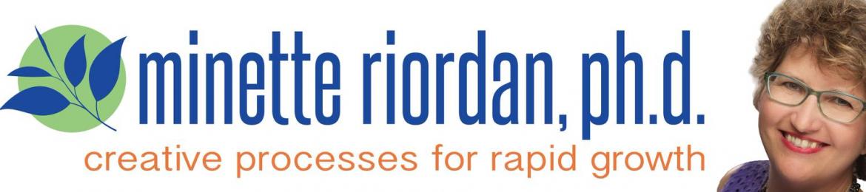 Minette Riordan's cover banner