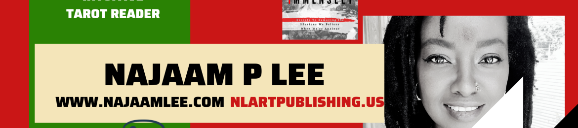 Najaam P. Lee's cover banner