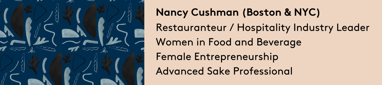 Nancy Cushman's cover banner