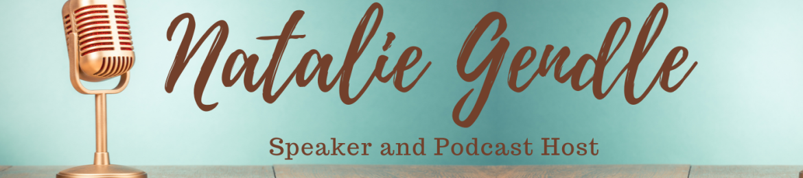 Natalie Gendle's cover banner