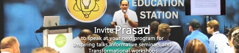 Prasad Vemulapalli's cover banner