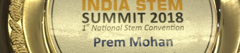 Prem Mohan's cover banner