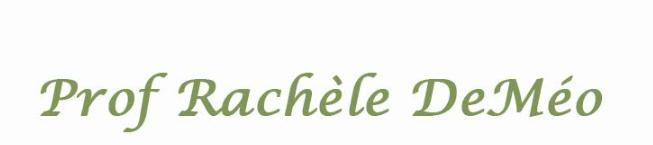 Rachèle DeMéo's cover banner