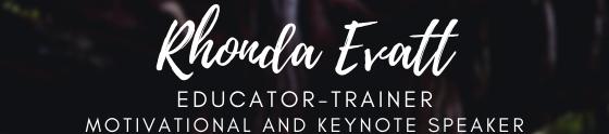 Rhonda Evatt's cover banner