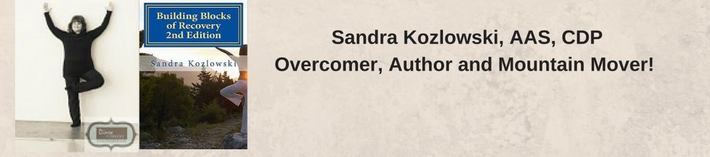 Sandra Kozlowski's cover banner