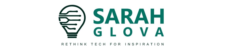 Sarah Glova's cover banner