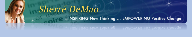 Sherre DeMao's cover banner