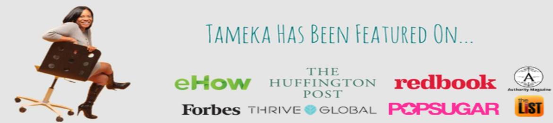 Tameka Anderson's cover banner