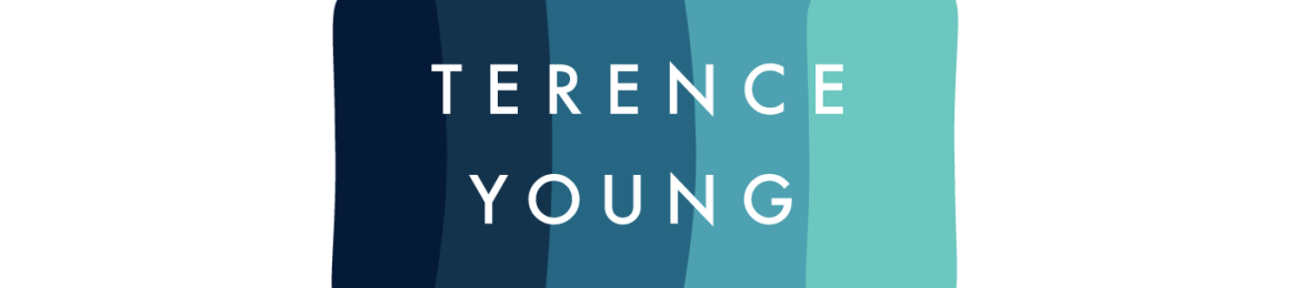 Terence Young's cover banner