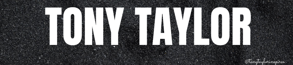 Tony Taylor's cover banner