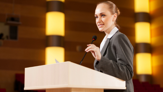 Expert advice: becoming a well-paid professional speaker