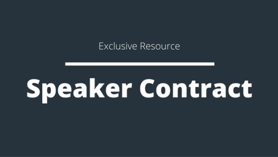 Speaker Contract