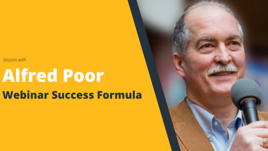 MasterClass: Webinar Success Formula with Alfred Poor